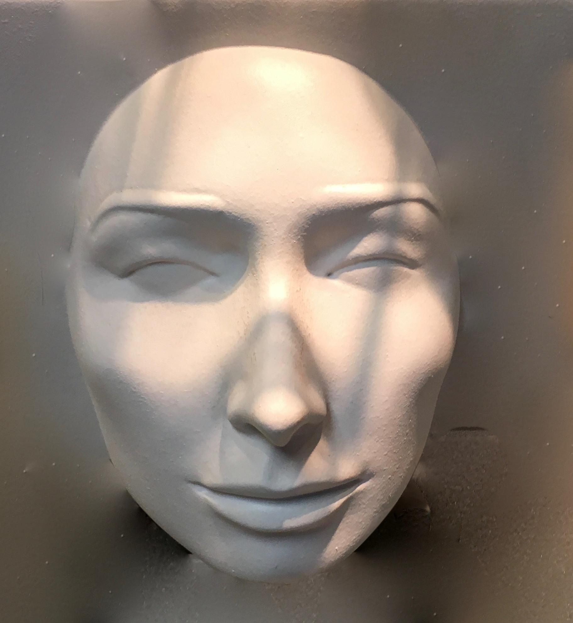 Shadows cast upon face