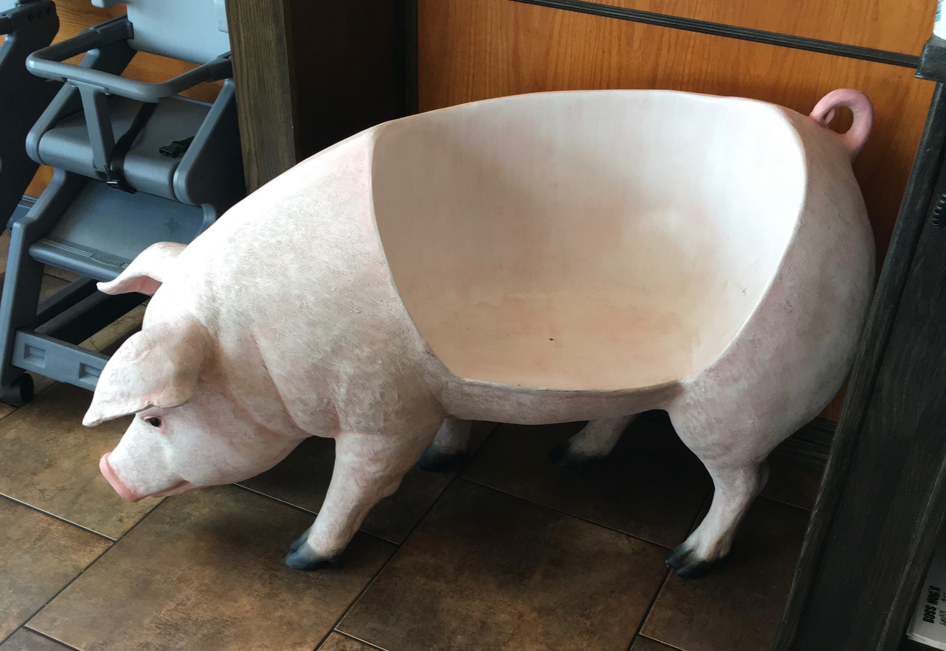 Child's pig chair
